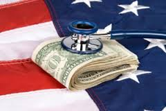 Healthcare Money Flag